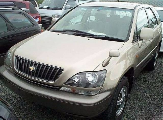 Toyota Harrier, SXU10, 2000 Г. В., 5S-FE, АКПП, 2WD, Серебро